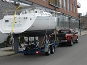 Sailboat Transport Service