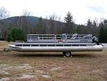 pontoon boat shipping
